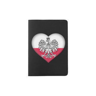 Polish Love Passport Holder