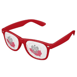 Polish Map Flag Sunglasses