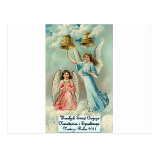 POLISH MERRY CHRISTMAS WESOLYCH SWIAT POST CARDS