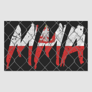 Polish MMA Sticker