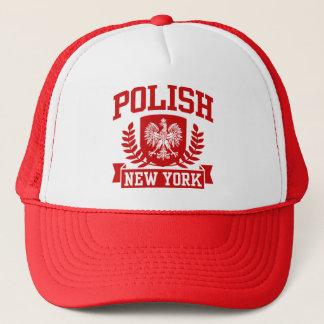Polish New York Trucker Hat