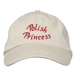 Polish Princess Cute Embroidered Hat
