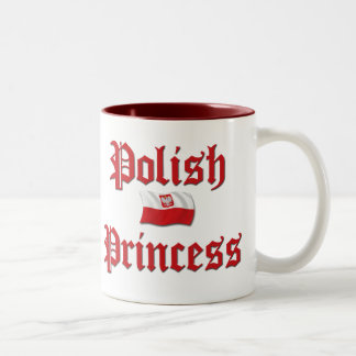 Polish Princess Two-Tone Coffee Mug