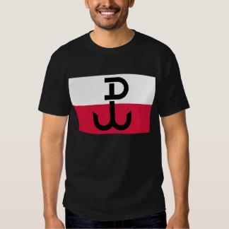 Polish Resistance Flag Shirt