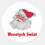 Polish Santa Claus #2 Sticker