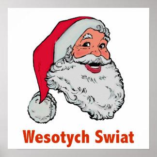 Polish Santa Posters