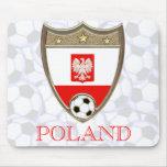 Polish Soccer Mouse Pad