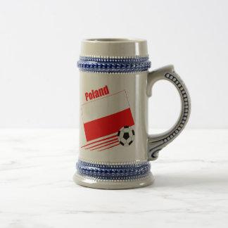 Polish Soccer Team Beer Steins
