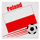 Polish Soccer Team Poster