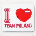 POLISH sport designs Mouse Pads