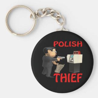 Polish Thief Key Ring