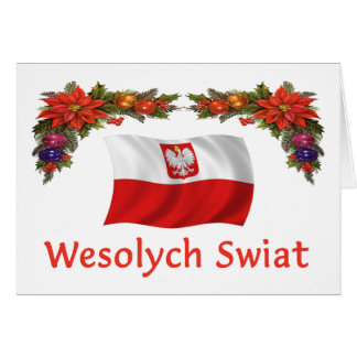 Polish Wesolych Swiat Card