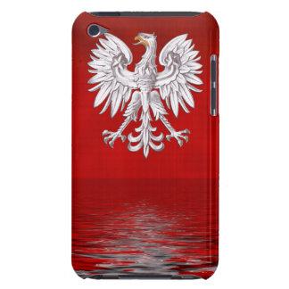 Polish White Eagle Levitate iPod Case-Mate Cases