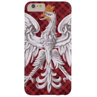 Polish White Eagle Plaid Barely There iPhone 6 Plus Case