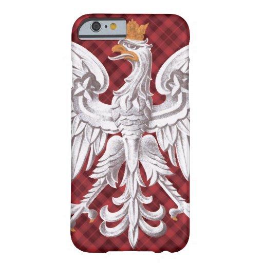 Polish White Eagle Plaid iPhone 6 Barely iPhone 6 Case