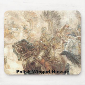 Polish Winged Hussar Mouse Mat