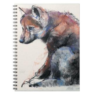 Polish Wolf Pup 2001 Notebook