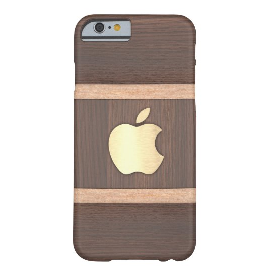 Polished dark brown wood inlaid case