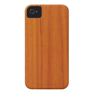 Polished Wood Style Blackberry Bold Case