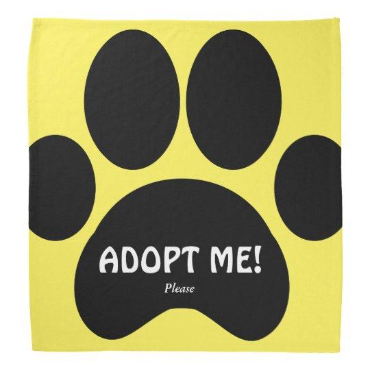Polite Dog Adoption Bandanna