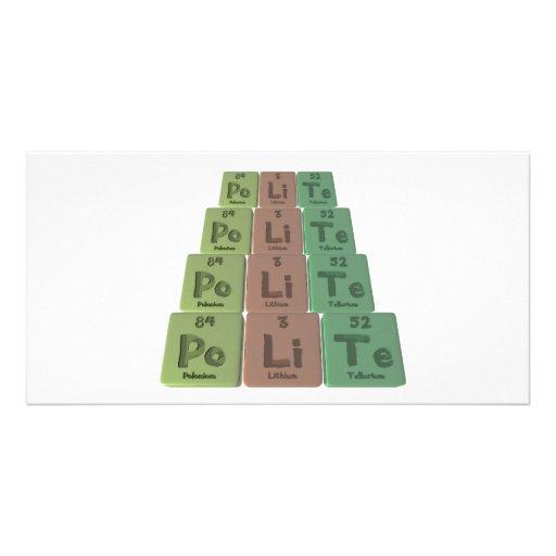 Polite-Po-Li-Te-Polonium-Lithium-Tellurium.png Photo Cards
