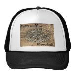 Polite until Provoked!~ Kimberly P-Chadwick Trucker Hat