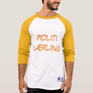 Politi Lærling, police Trainee in Norwegian T-Shirt