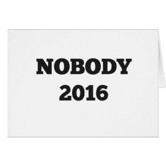 Political 2016 greeting card