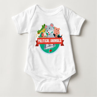 Political Animals Babies T-shirt