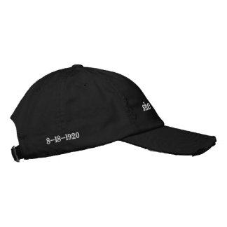 political baseball cap for women