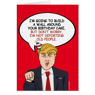 Political Birthday Greeting Greeting Card