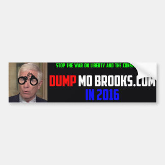 Political Bumper Sticker Calling for the Removal o