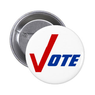 Political Buttons Pin-back campaign Encourage Vote