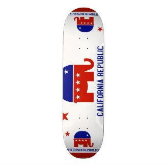 political california republic skateboards
