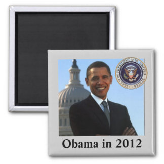 Political Campaign for 2012 Square Magnet