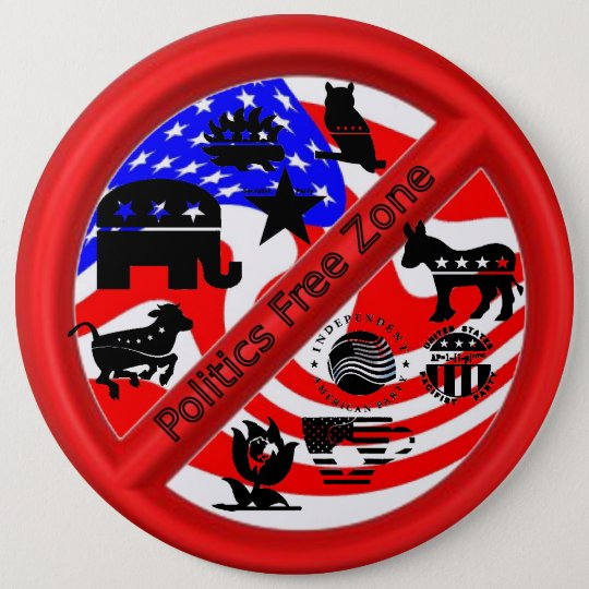 Political Campaign Repellent Button