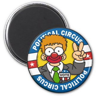 Political Circus Magnet