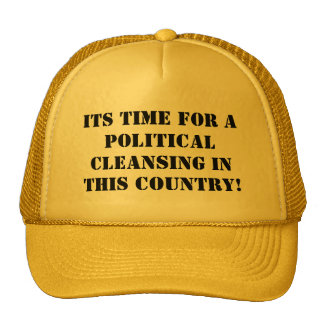 Political Cleansing Cap