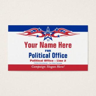 Political Election Campaign Card - Republican
