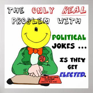 Political Jokes Get Elected Print