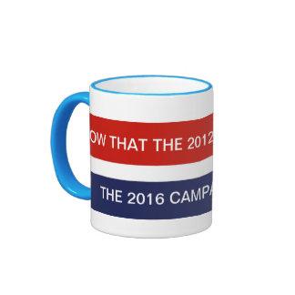 Political Junkie Ringer Mug