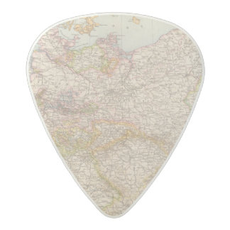 Political Map of Germany Acetal Guitar Pick
