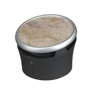 Political Map of Germany Bluetooth Speaker