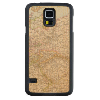 Political Map of Germany Carved Maple Galaxy S5 Case