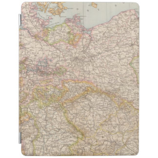 Political Map of Germany iPad Cover