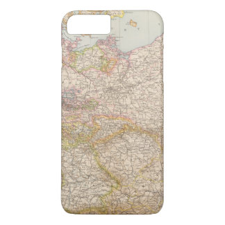 Political Map of Germany iPhone 7 Plus Case
