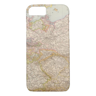 Political Map of Germany iPhone 8/7 Case