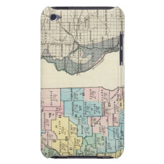 Political map of Illinois Case-Mate iPod Touch Case