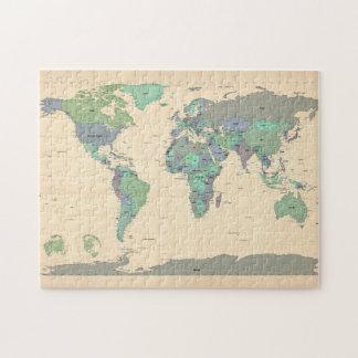 World map art jigsaw puzzles zazzle political map of the world map jigsaw puzzle gumiabroncs Gallery