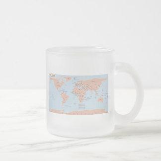 Political Map of the World Coffee Mug